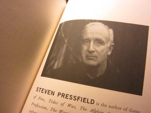 Mr. Steven Pressfield