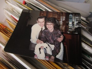 November 9, 1981. The day my mom married Edwin John Bodley.