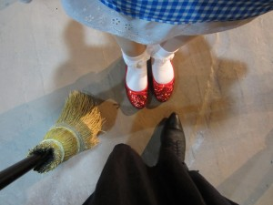 Searching the the ruby red slippers