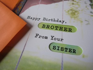 Happy Birthday Brother.