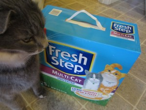 I use only the best in my litter boxes.