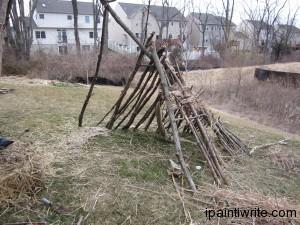 We built a fort.