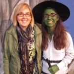 Kathleen Caron and The Wicked Witch of The West