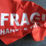 Take off your fragile sticker