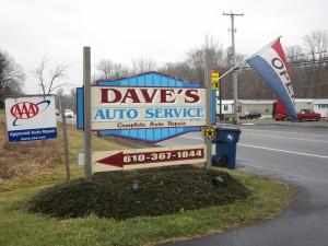 Dave's Auto, Boyertown, Pennsylvania