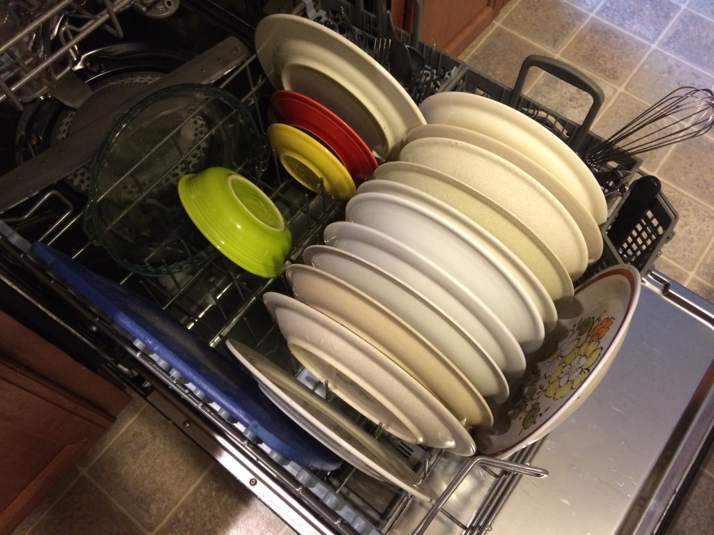 Do not hand-wash all your dirty dishes