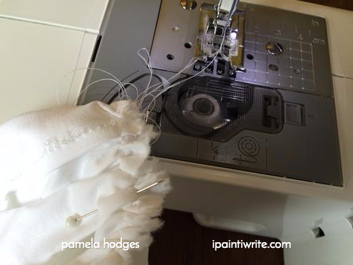 a broken sewing machine