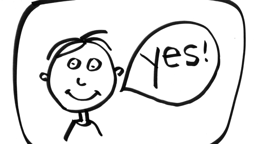 Saying yes can change your life