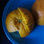 I shared my orange