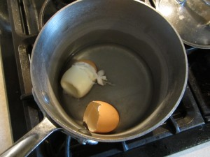 Have a plan so you don't overcook your eggs