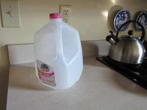 An empty milk carton just ruined my day