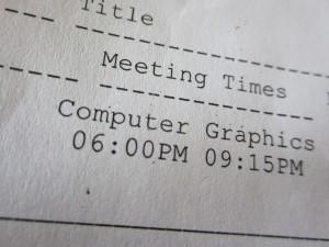 Computer Graphics class