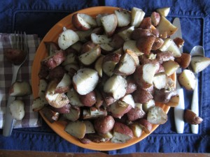 There are too many potatoes on my plate