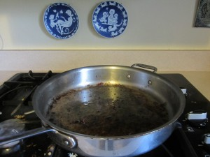 The mysterious case of the missing fying pan and the bad attitude