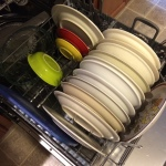 Do not hand-wash all your dishes when the dishwasher breaks