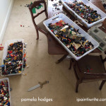 Can mothers let their children play with Legos on the formal dining room table?
